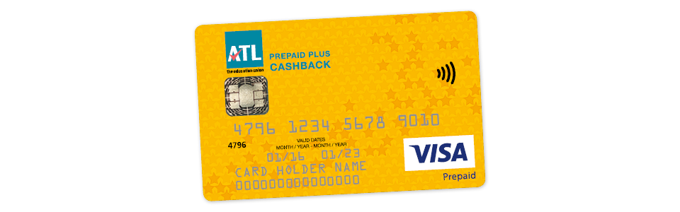 Welcome to the ATL Prepaid Plus Cashback card!