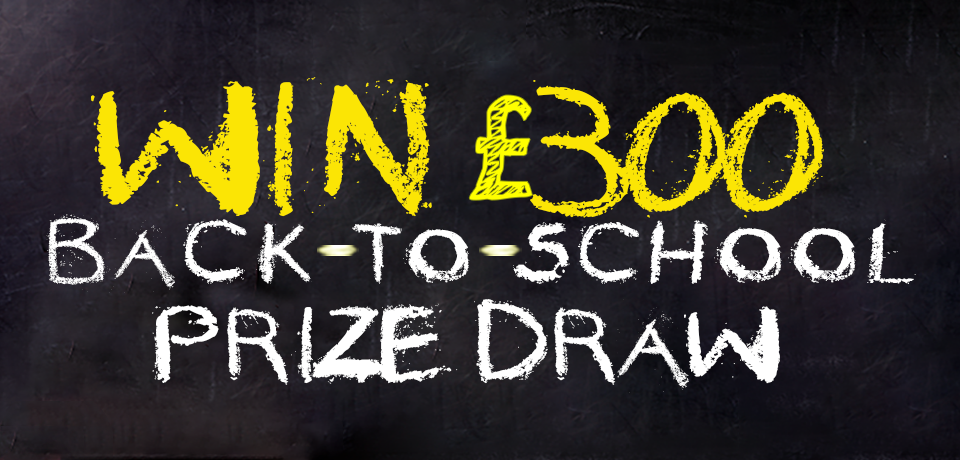 Win £300 in our back-to-school prize draw! Union Prepaid Plus Cashback Card